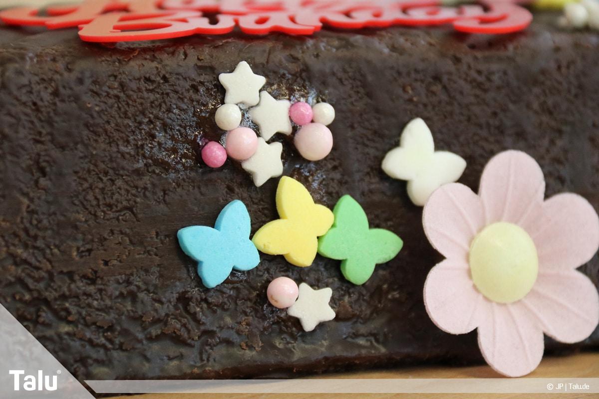 Essbaren Kleber selber machen, Zuckerkleber, Zuckerdeko-Elemente