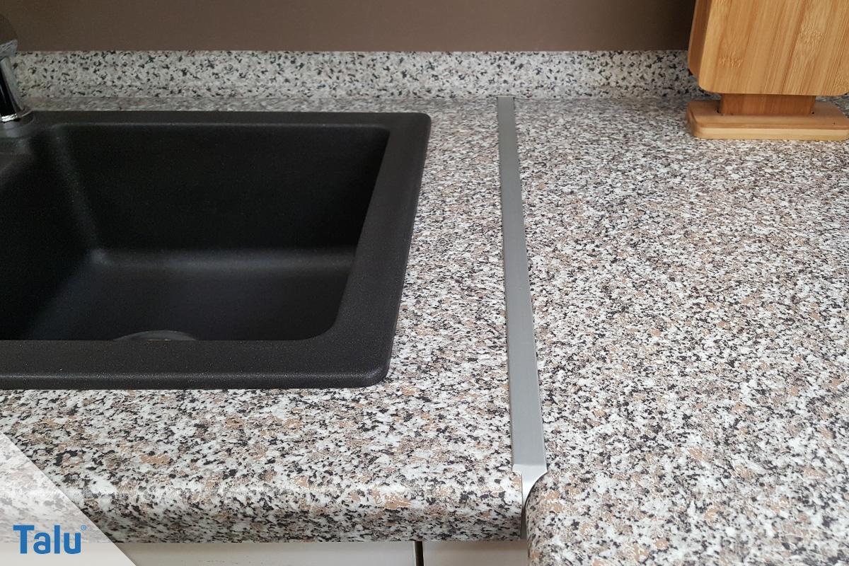 Greift Essig Waschmaschine und Co. an, Arbeitsplatte aus Naturstein