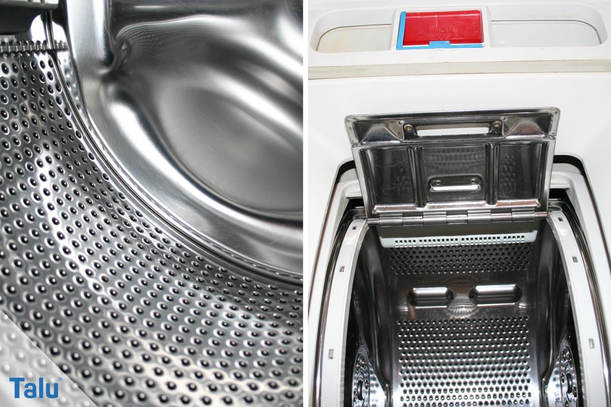 Greift Essig Waschmaschine und Co. an, Waschmaschinentrommel