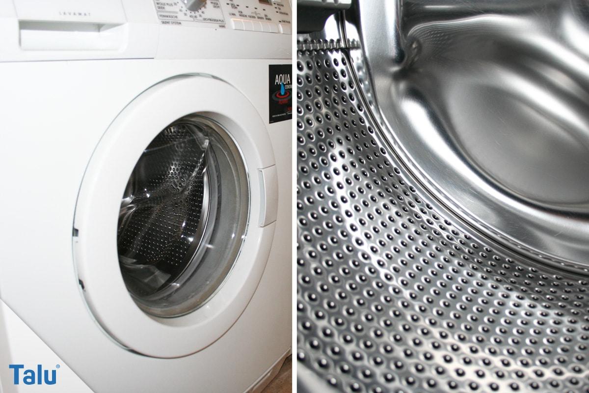 Greift Essig Waschmaschine und Co. an, Waschmaschine
