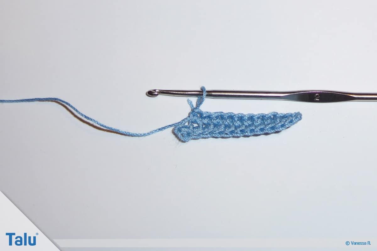 Irisch häkeln, Luftmaschenkette