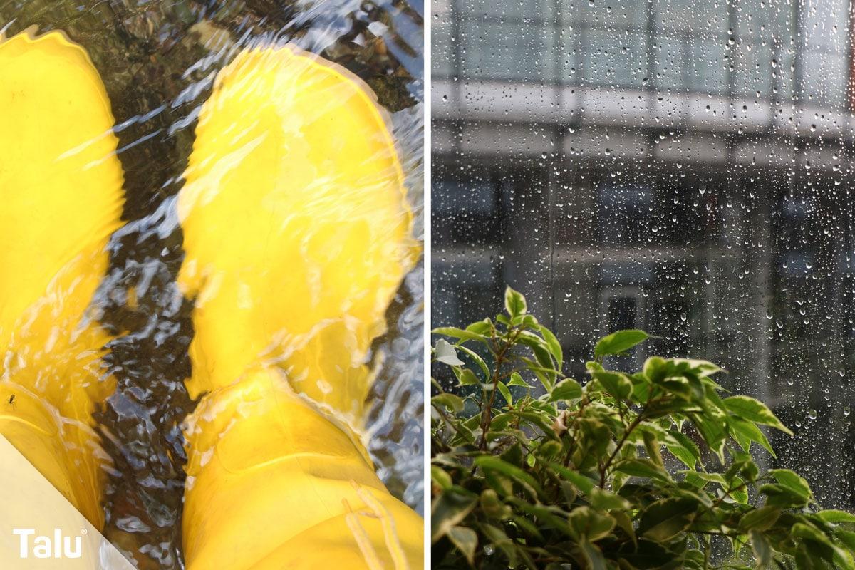 Regenwasser für Toilette und Waschmaschine benutzen, Regenwasser als Brauchwasser