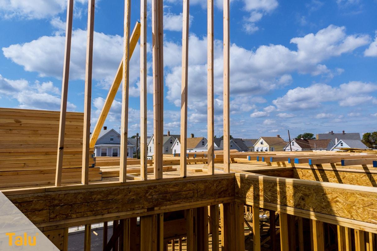 Was gehört zum Rohbau, Hauskonstruktion im Rohbau