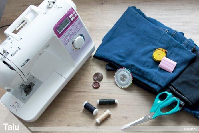 Upcycling Jeans, Anleitung und Bastelideen