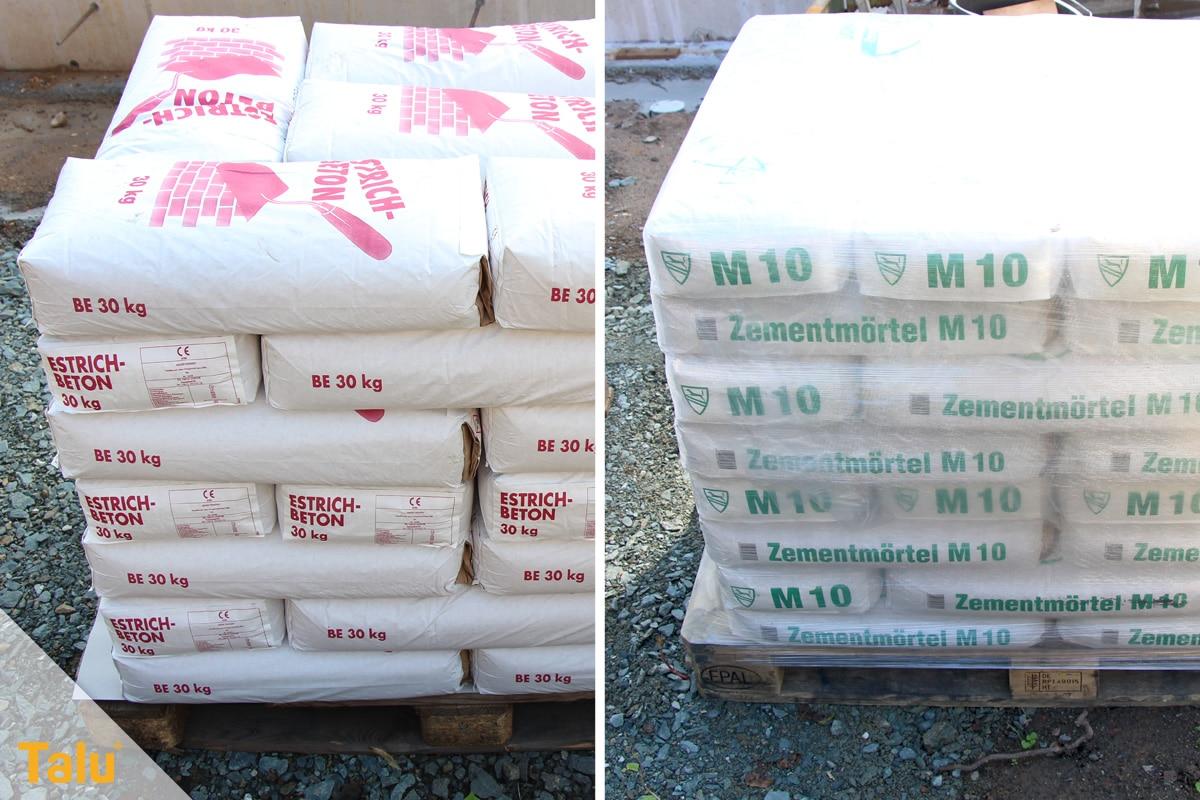 Was gehört zum Rohbau, Materialkosten für den Rohbau