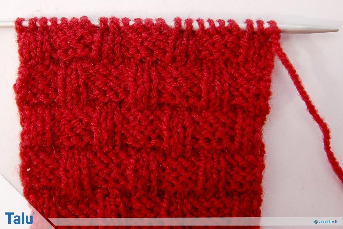 Welche Wolle für Babydecke, Flechtmuster, weitere Schritte