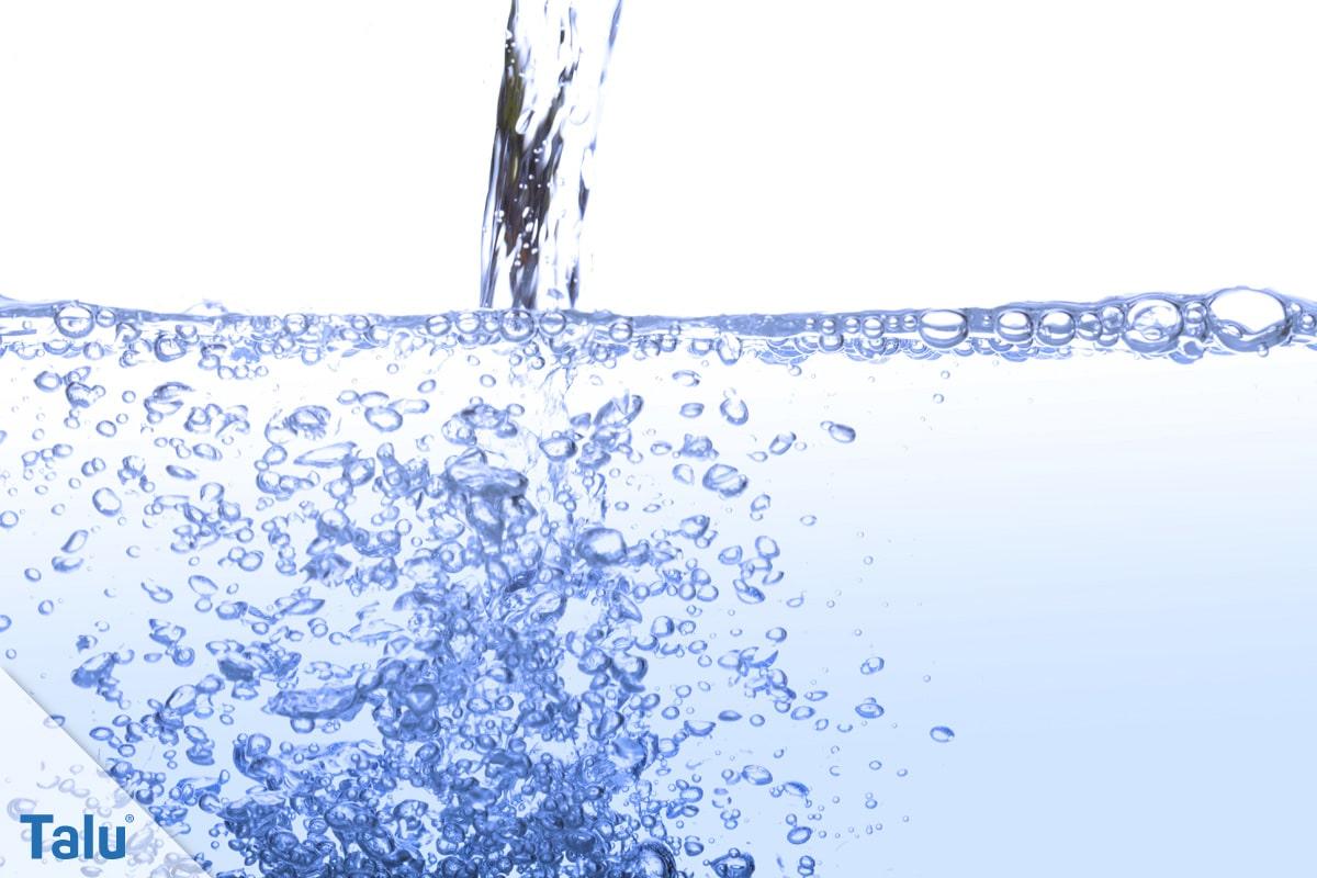 Wasserdruck im Haus, Trinkwasser