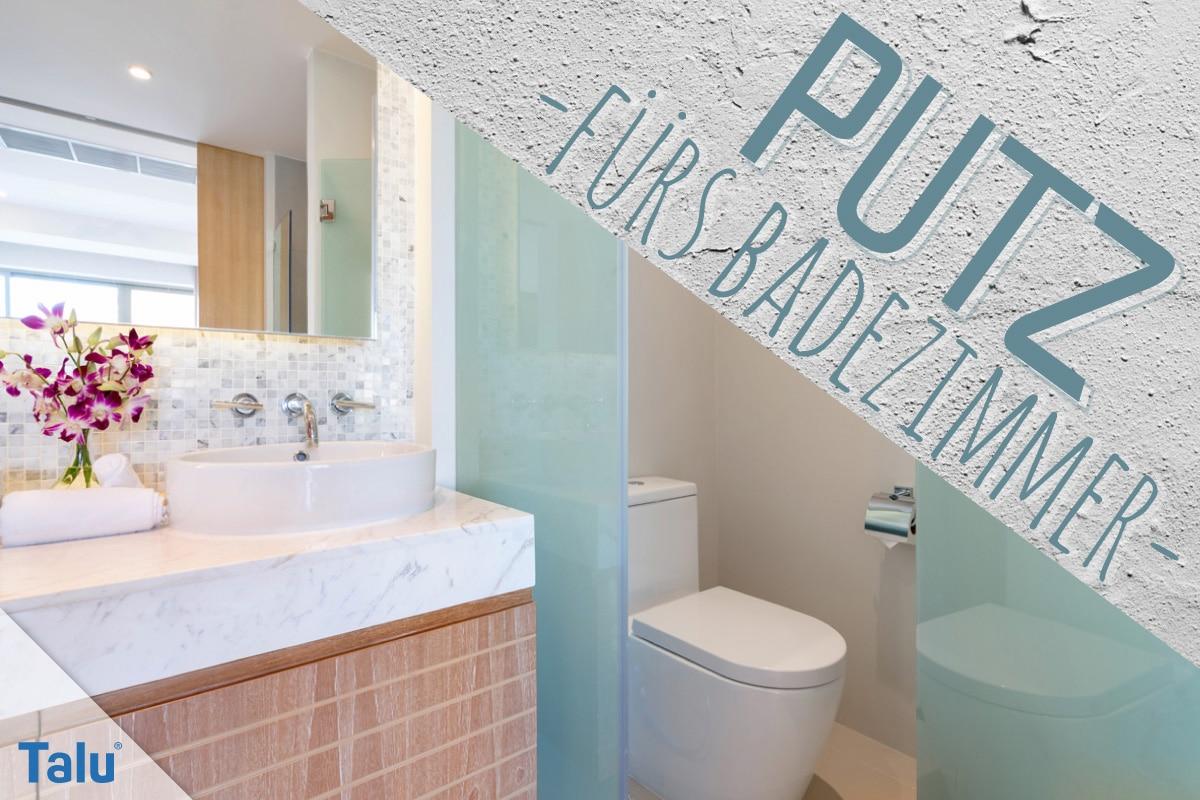 Welcher Putz ist fürs Badezimmer geeignet? Kalkputz ...