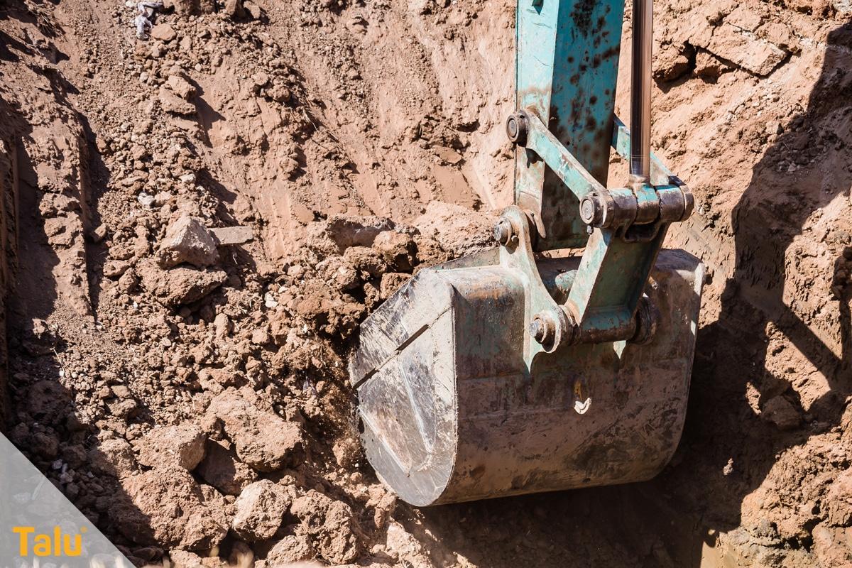 Abbruchkosten pro m³ umbauter Raum, Erdarbeiten