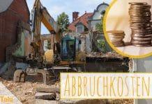 Abbruchkosten pro m³ umbauter Raum, Kosten im Überblick