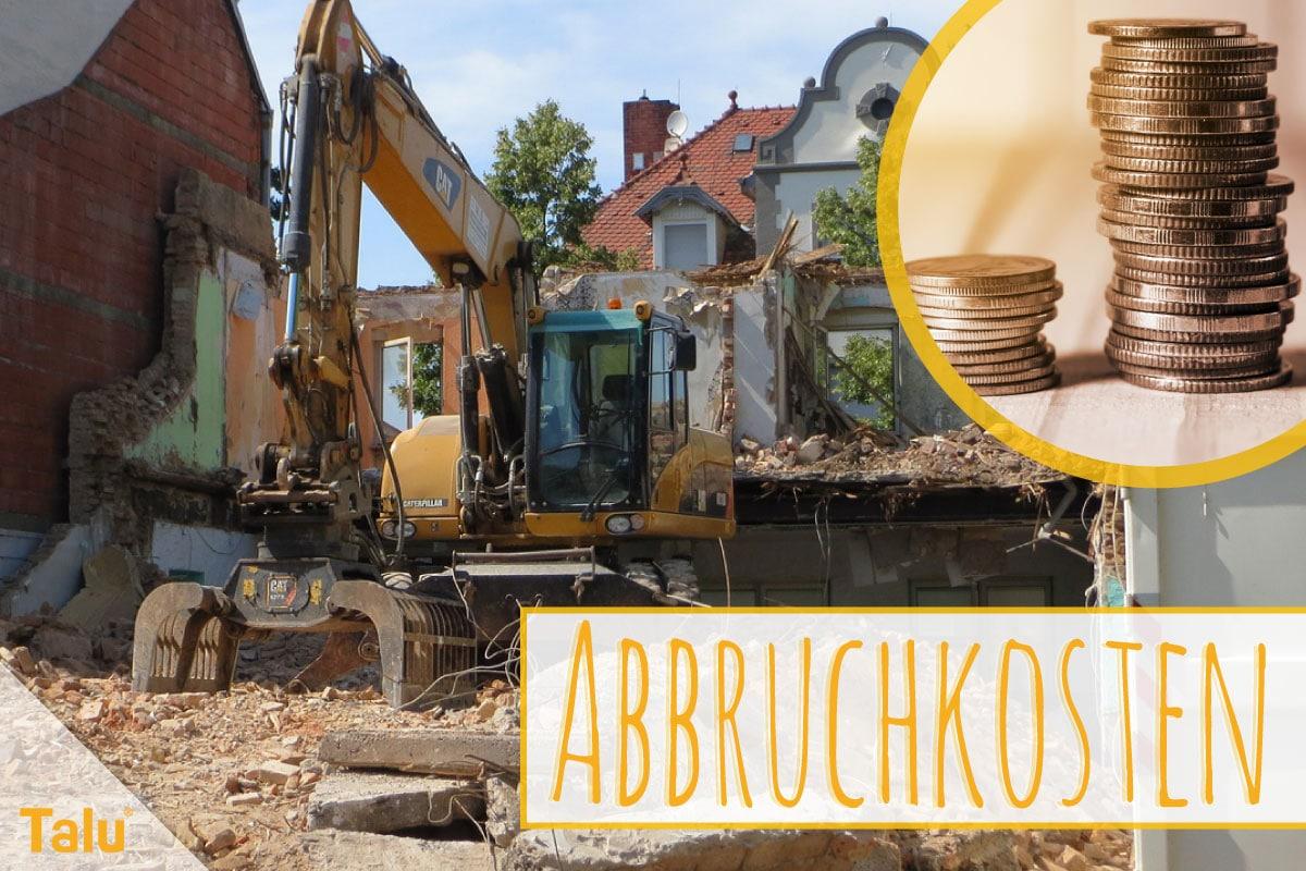 Abbruchkosten Pro M Umbauter Raum Kosten Im Uberblick