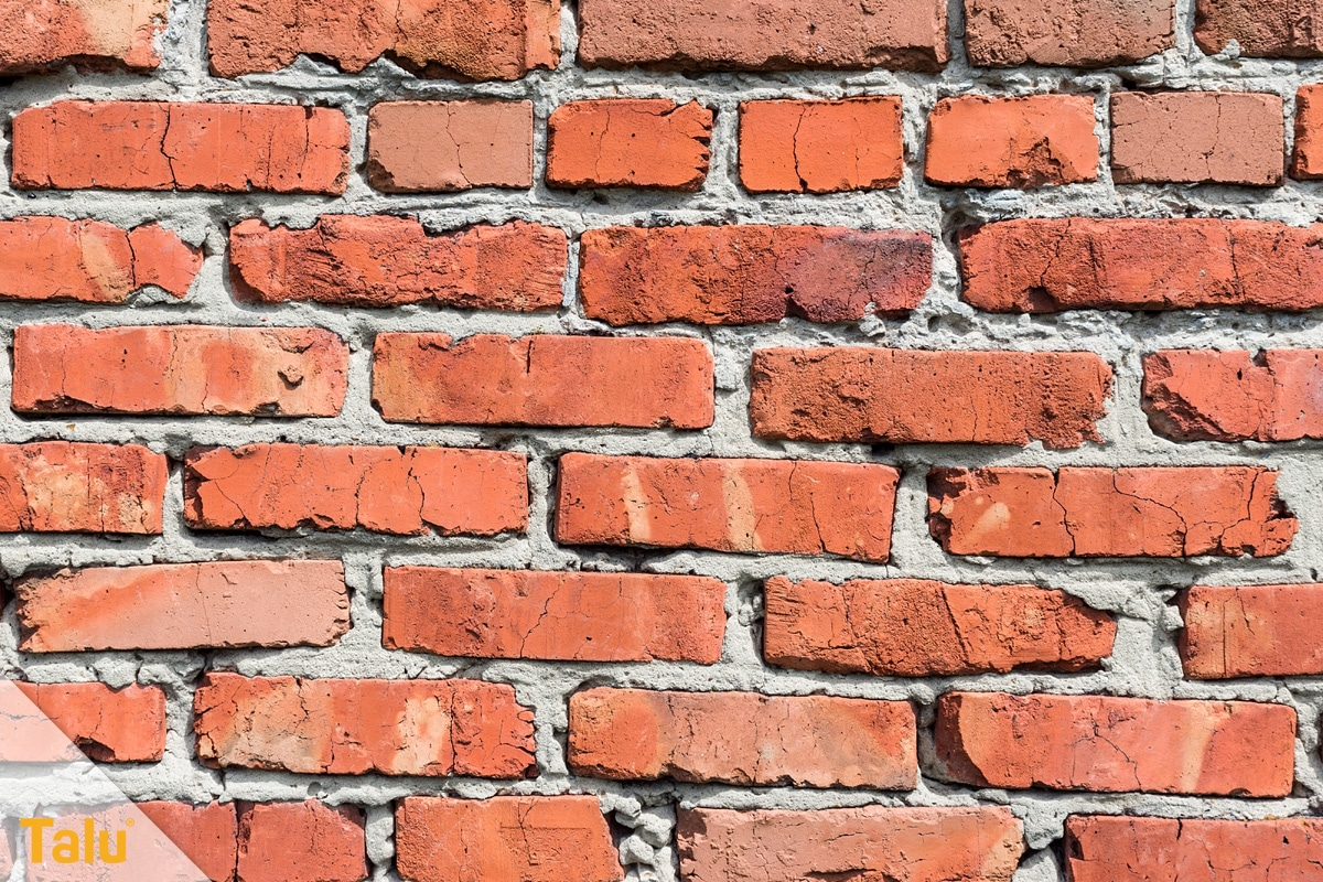 Abbruchkosten pro m³ umbauter Raum, Ziegelsteine