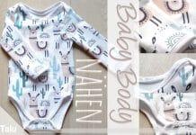 Baby Body nähen, kostenlose Anleitung mit Schnittmuster