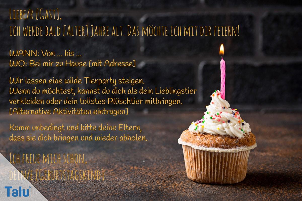Einladungstext Für Kindergeburtstag 13 Schöne Ideen Talude