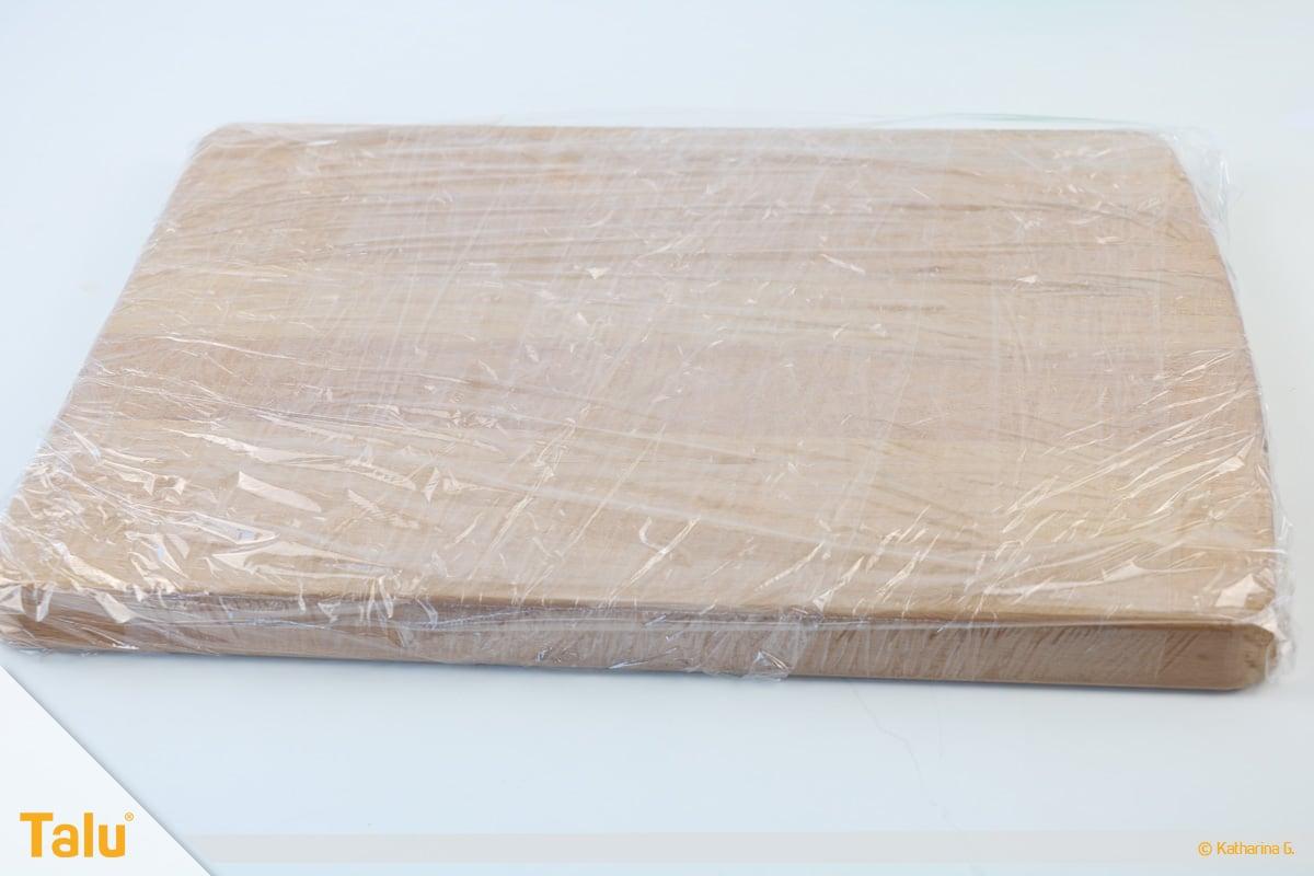 Essbarer Glitzer, Glitzerpulver, Variante aus Gummar, Brett oder Blech vorbereiten