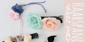 Haarspangen selber machen, Ideen und Tipps zum Material