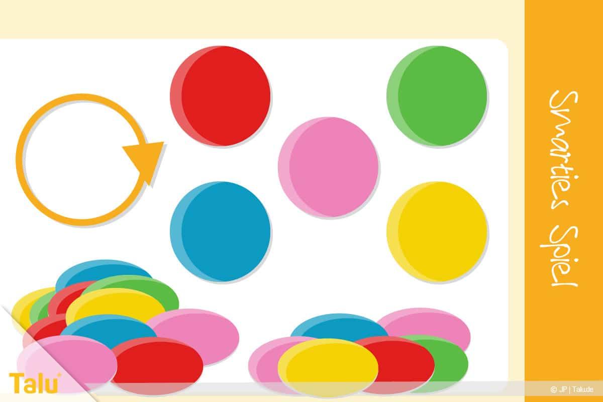Kennenlernspiele für Kinder und Erwachsene, Smarties Spiel