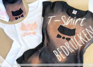 T-Shirt selbst bedrucken, DIY-Anleitung