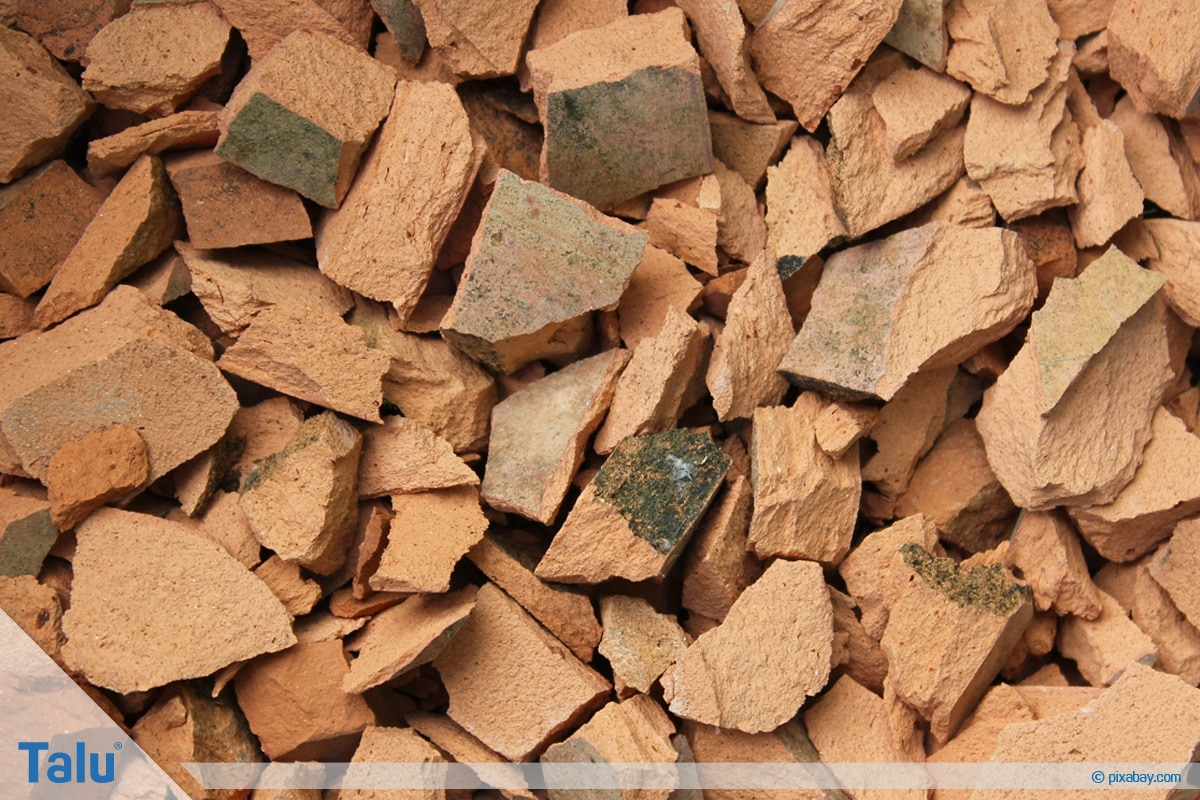 Terrakotta kleben, Terracotta-Töpfe reparieren, Terracotta-Scherben