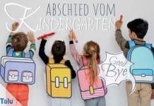 Abschied vom Kindergarten, schöne Gedichte und Sprüche