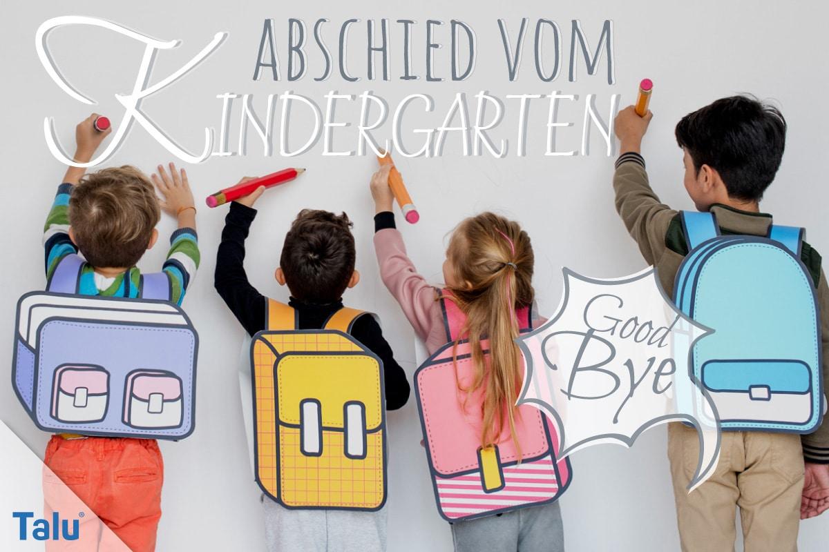 Abschied Kindergarten Danke Für Die Schöne Zeit