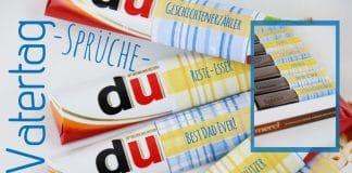 Basteln zum Vatertag, Sprüche und Gedichte für Papa + Vorlagen