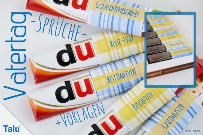 Basteln Zum Vatertag Sprüche Und Gedichte Für Papa Vorlagen Talude
