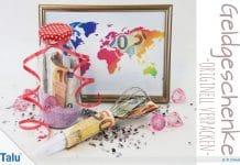 Geldgeschenke und Gutscheine originell verpacken, Ideen