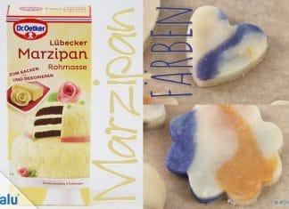 Marzipan färben, 4 Ideen im Test mit Anleitung