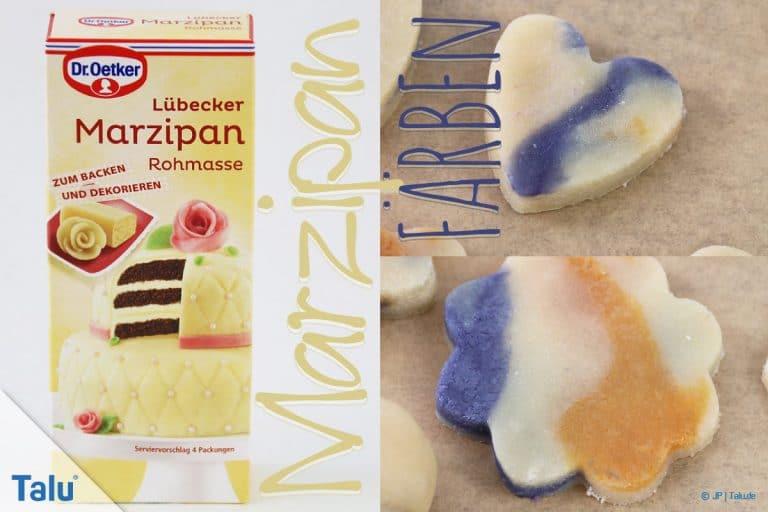 Marzipan färben: 4 Ideen im Test mit Anleitung - Talu.de