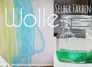 Wolle selber färben, Anleitungen & Methoden