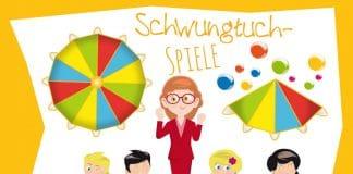 Schwungtuchspiele, Anleitung, Ideen zum Kindergeburtstag