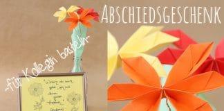 Abschiedsgeschenk für Kollegin basteln, 4 DIY-Ideen