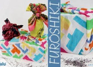 Furoshiki, Geschenke mit Stoff und Tüchern verpacken, Anleitung