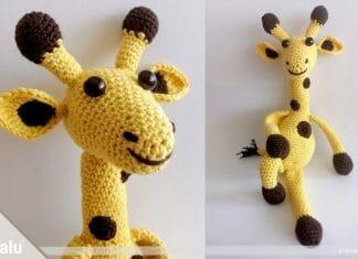 Giraffe häkeln, Amigurumi Anleitung für Häkelgiraffe