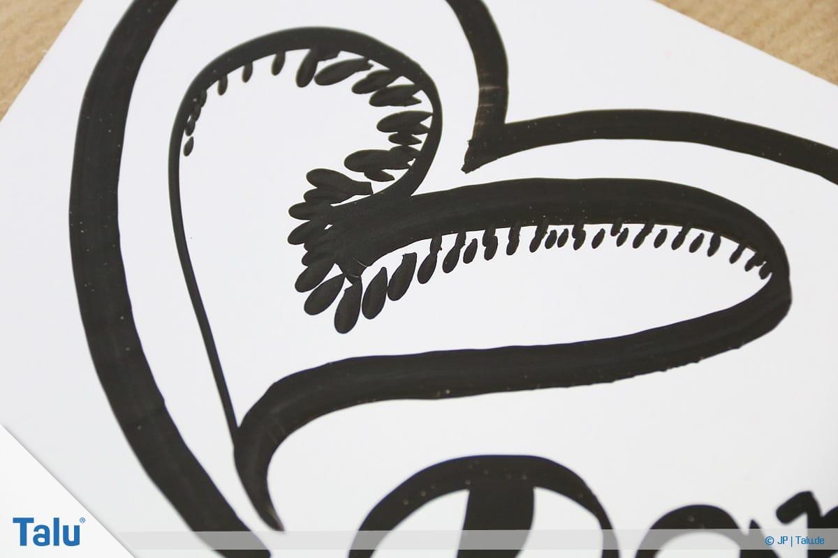 Handlettering lernen, Anleitung mit Übungsblättern, Symbole zeichnen