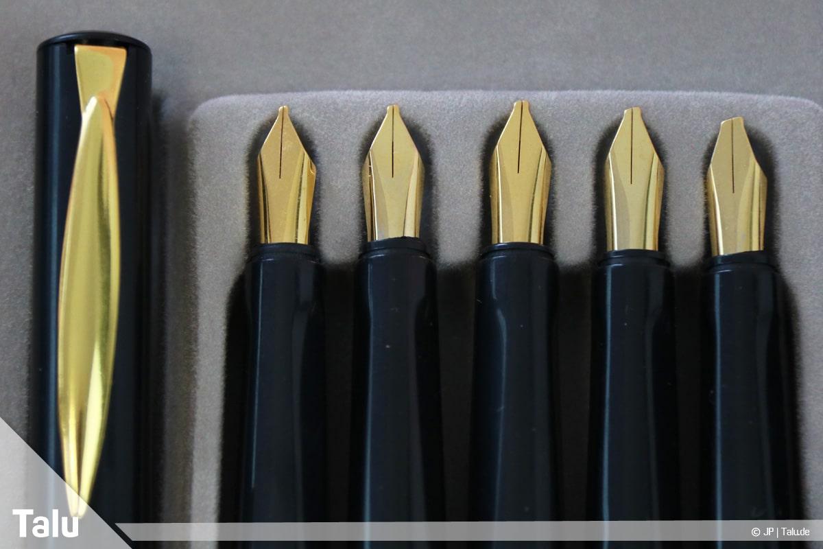 Kalligraphie lernen, Anleitung für Anfänger, Kalligraphie-Füller-Set