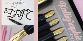 Kalligraphie lernen, Erste Schritte und DIY-Anleitung für Anfänger