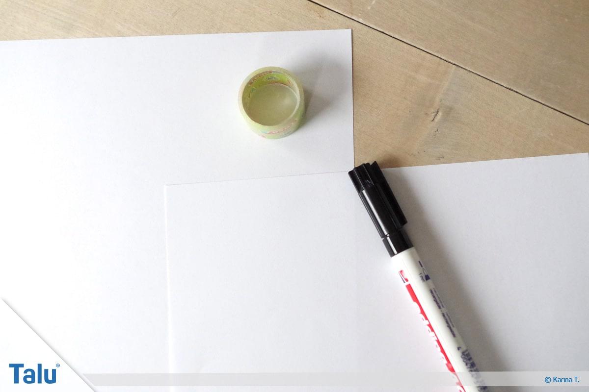 Kapuze nähen und annähen, Schnittmuster zeichnen