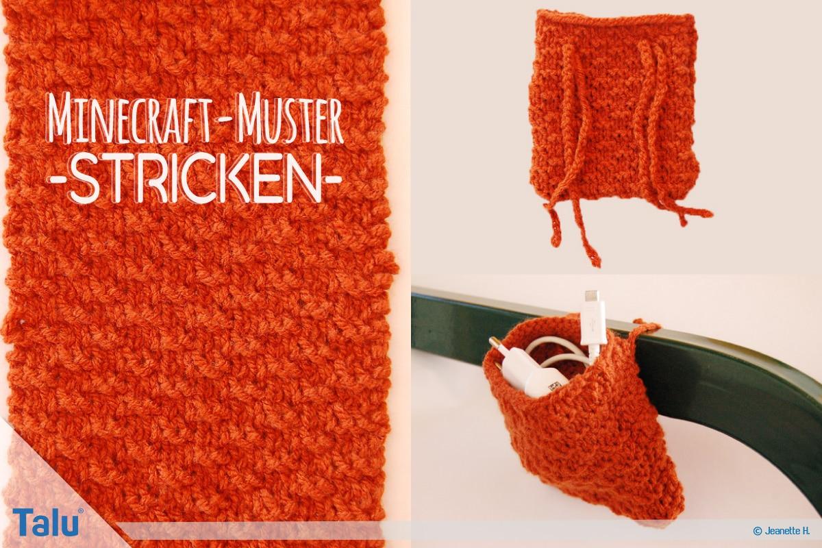 Ravelry Minecraft Socks Pattern By Heather Cox 6