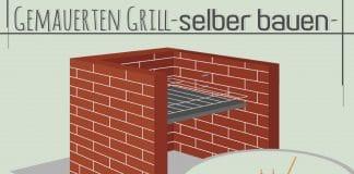 Gemauerten Grill selber bauen, DIY-Gartengrill