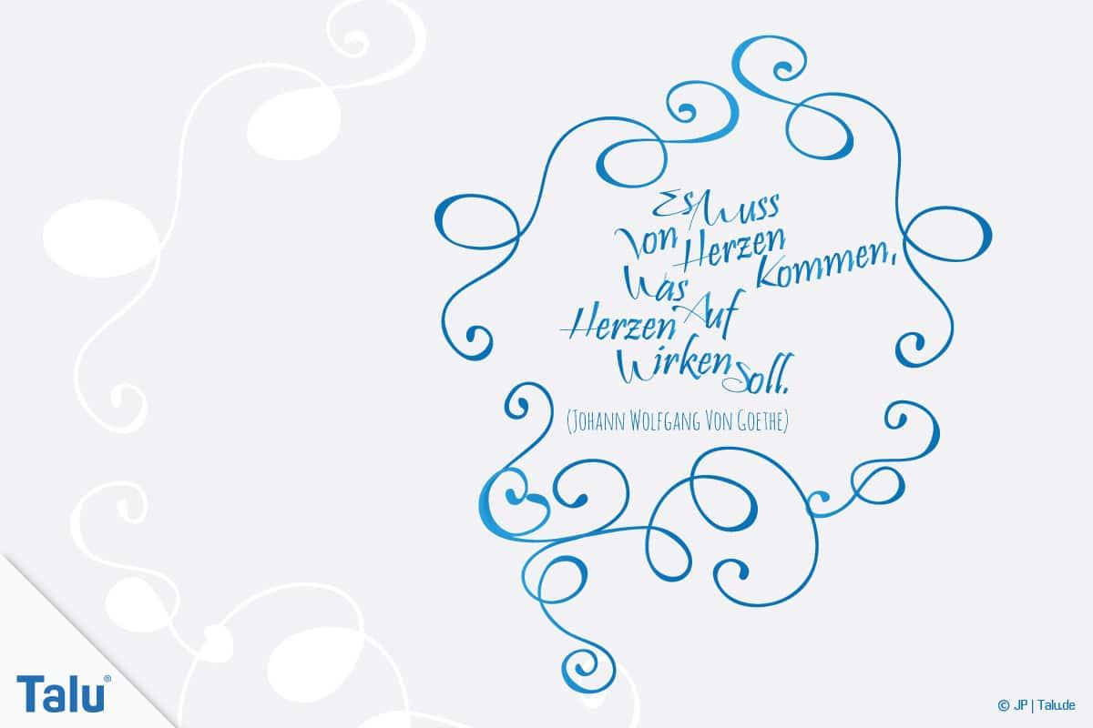 Handlettering, Sprüche für jede Gelegenheit, Spruch Von Herzen