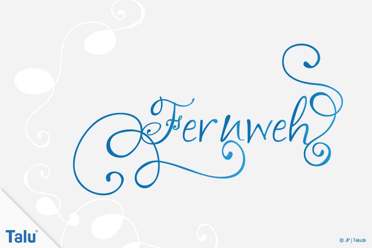 Handlettering, Sprüche für jede Gelegenheit, Spruch Fernweh