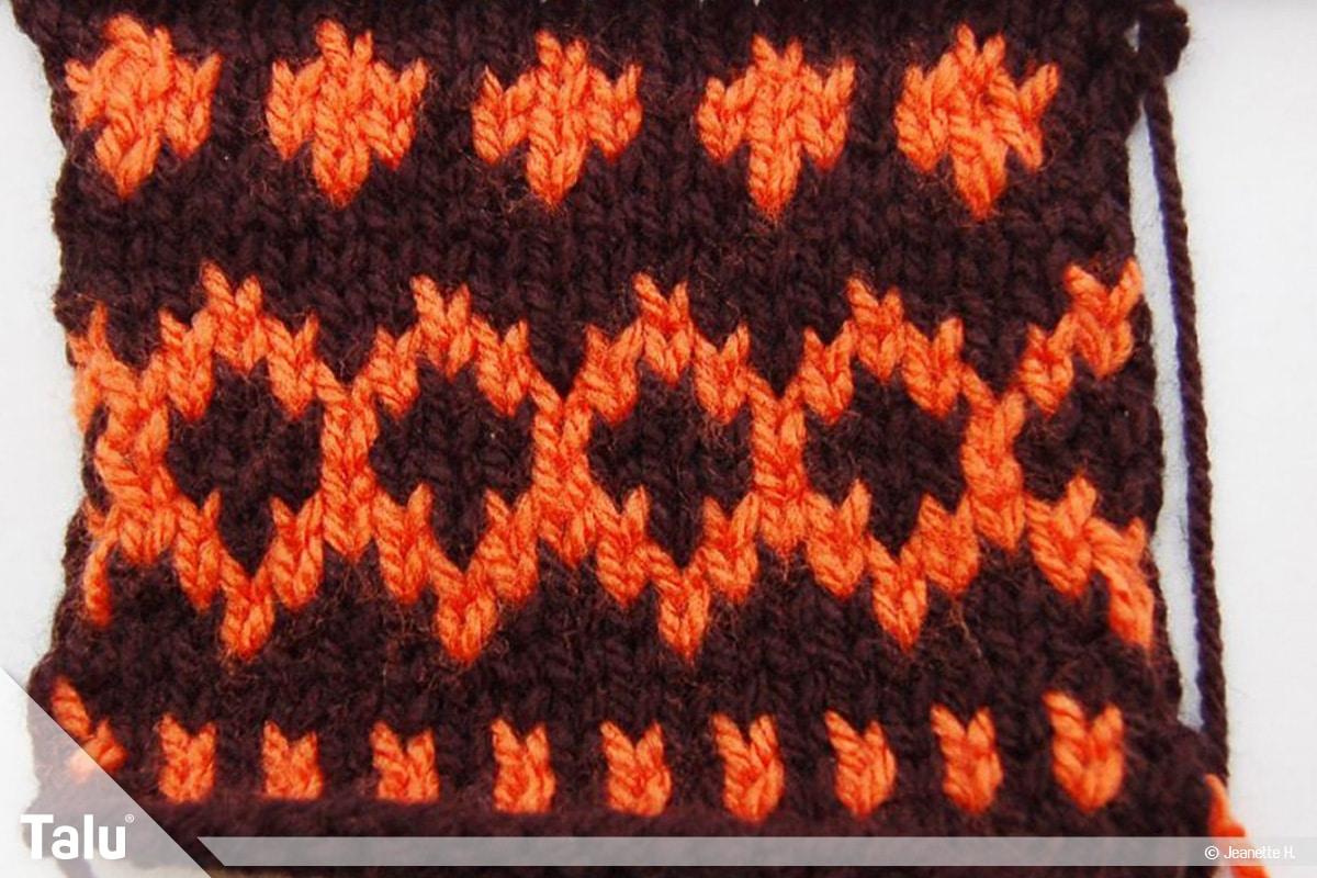 Strickmuster für Pullis, Pullover-Muster, Norwegermuster