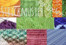 Strickmuster für Socken, 10 kostenlose Muster