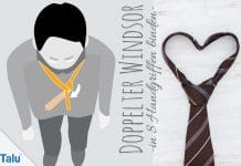 Doppelter Windsor, Krawattenknoten binden in 8 Handgriffen, Anleitung