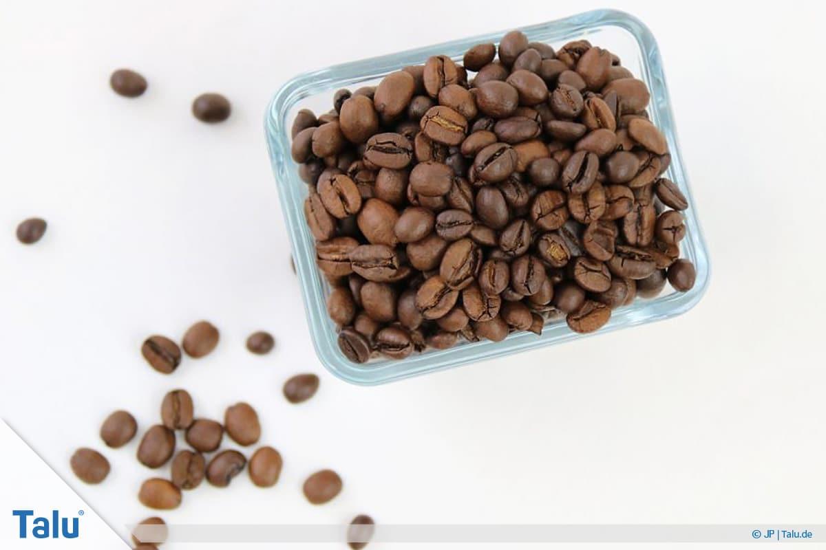 Käsegeruch in der Wohnung, Kaffeebohnen als Hausmittel