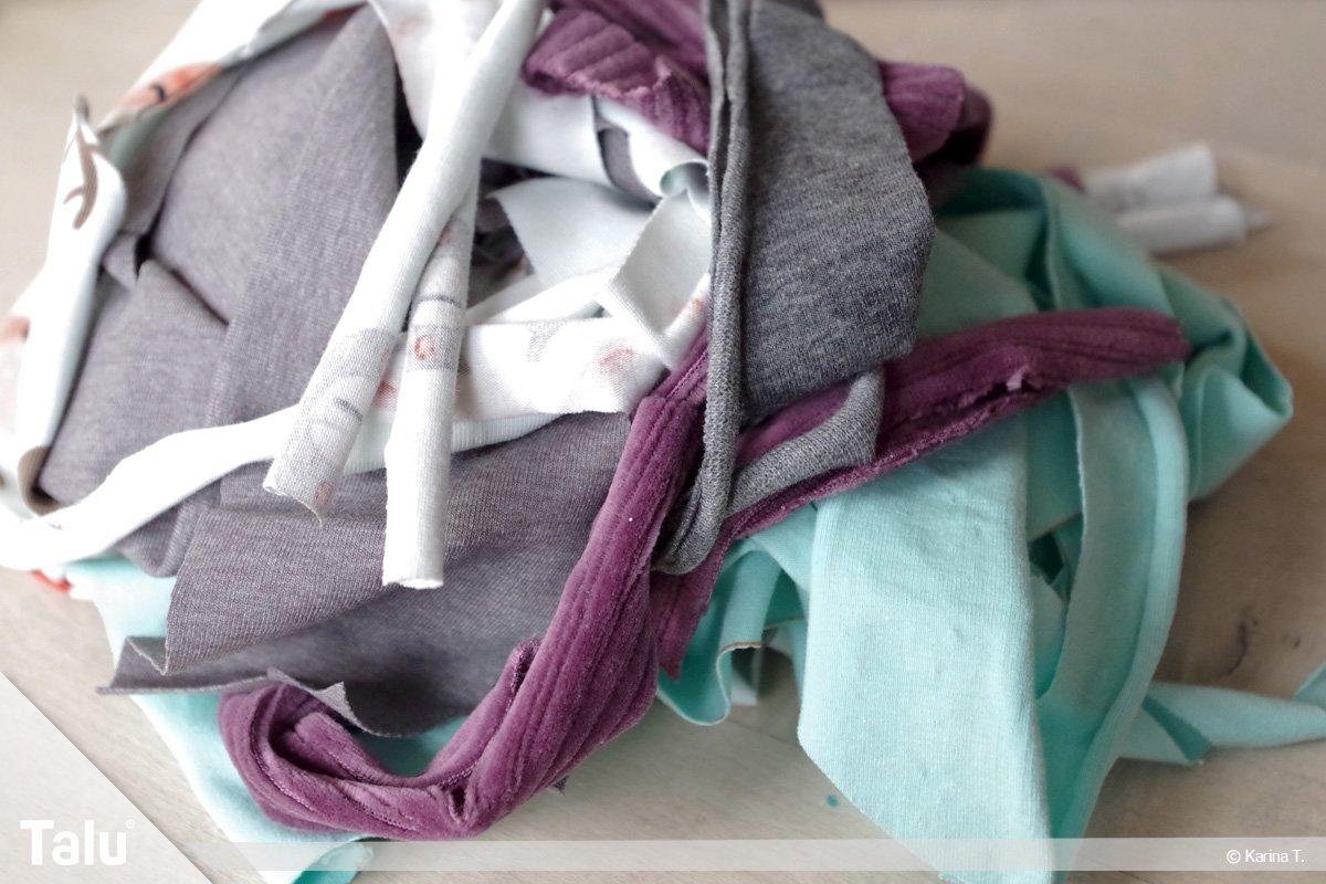 Füllmaterial für Sitzsäcke, welche Füllung, Stoffreste als Sitzsack-Füllung
