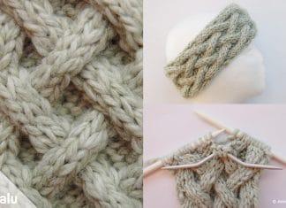 Keltische Muster stricken, Keltenmuster stricken mit kostenloser Anleitung