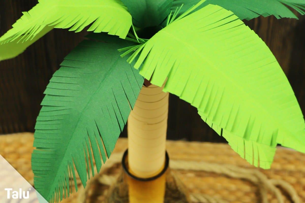 Palme aus Papier